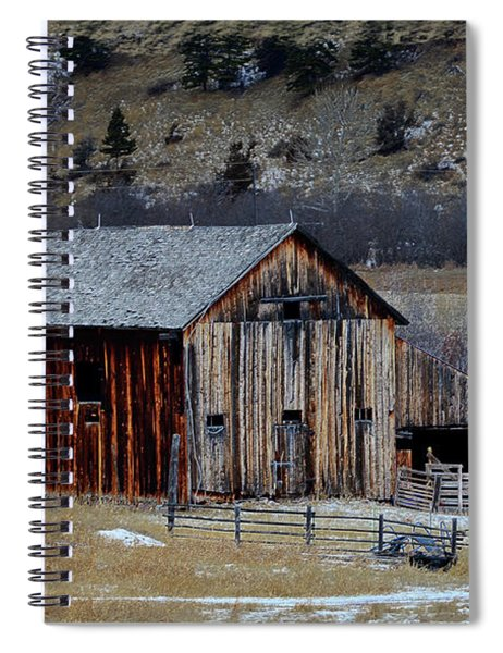 Building On Hold  Spiral Notebook