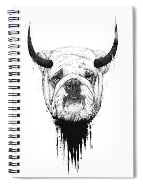 Bull Dog Spiral Notebook