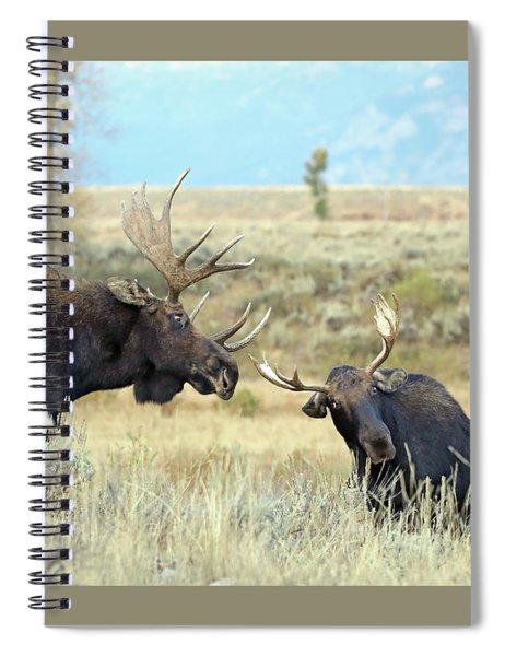 Bull Moose Challenge Spiral Notebook