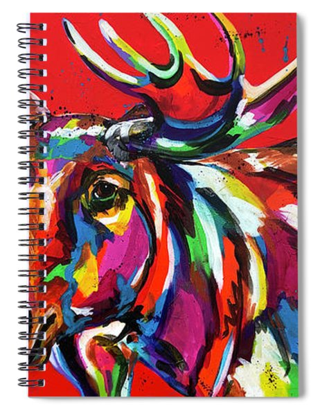 Bully Moose Spiral Notebook