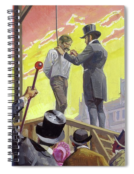 Burke And Hare, Criminals, Grave Robbers And Murderers Spiral Notebook
