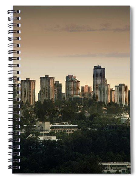 Burnaby Dusk Spiral Notebook