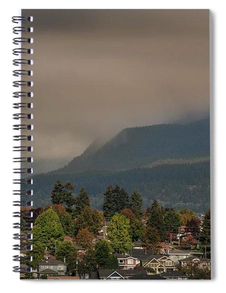 Burnaby Mountain Spiral Notebook