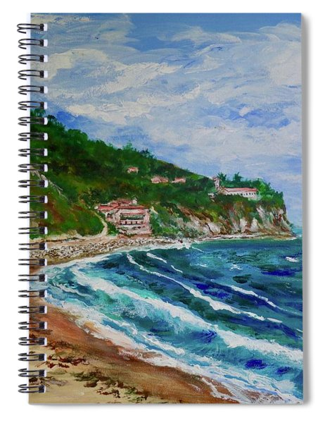 Burnout Beach, Redondo Beach California Spiral Notebook
