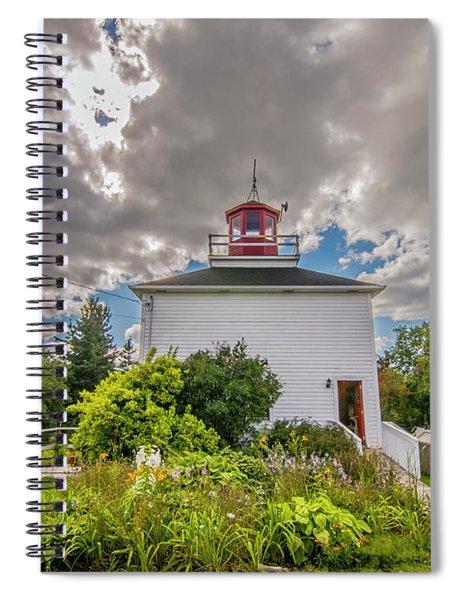 Burntcoast Head Lighthouse  Spiral Notebook