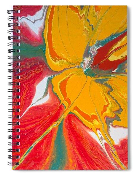 Burst Of Spring Spiral Notebook