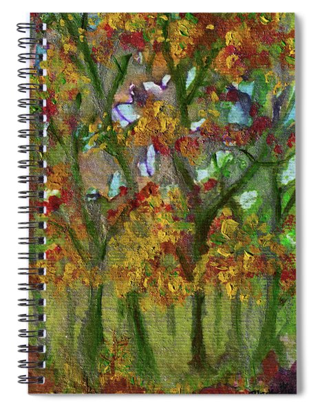 Bursting With Color Spiral Notebook