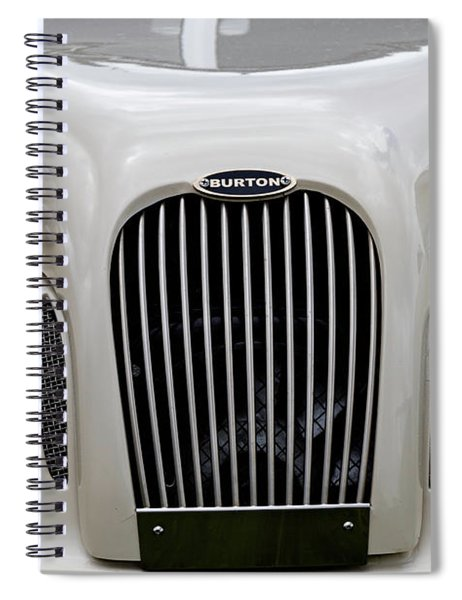 Spiral Notebook featuring the photograph Burton by Anjo Ten Kate