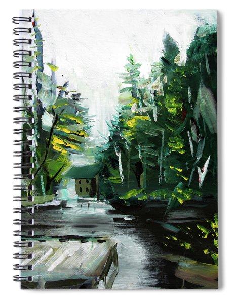 Burton Dock Spiral Notebook