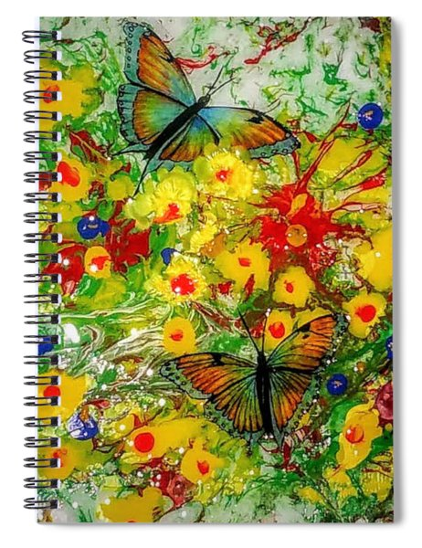 Butterfly Delight Spiral Notebook