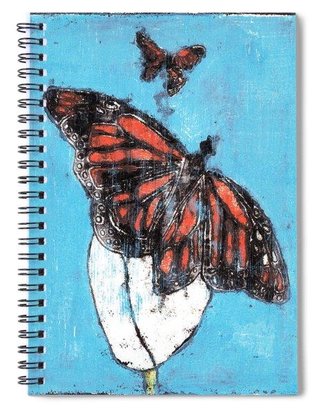 Butterfly Garden Summer 1 Spiral Notebook
