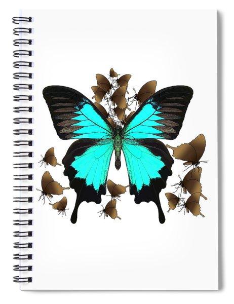 Ulysses Butterfly All A Flutter Spiral Notebook