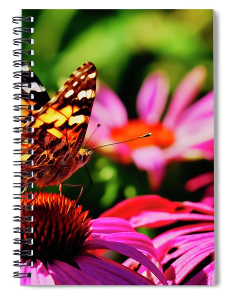 Butterfly Side Spiral Notebook