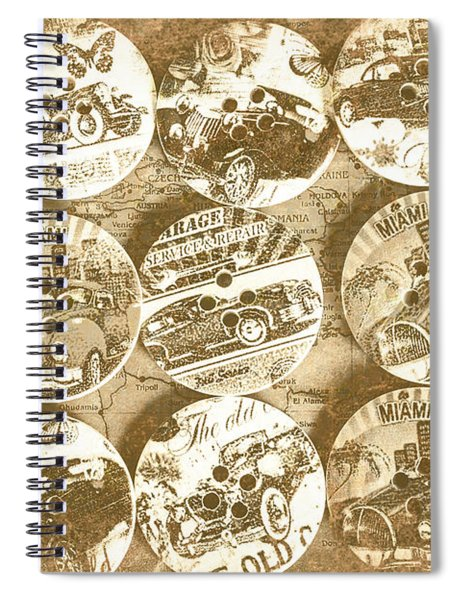 Button Roadhouse Spiral Notebook