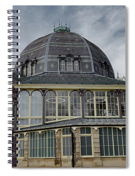 Buxton Octagon Hall At The Pavilion Gardens Spiral Notebook