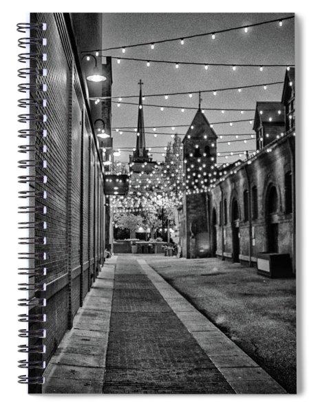 Bw City Lights Spiral Notebook