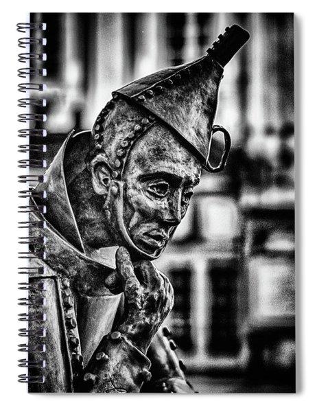 Bw Tinman Spiral Notebook