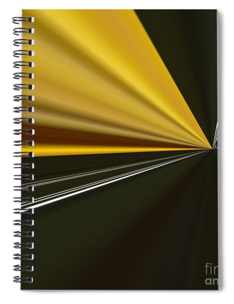 Spiral Notebook featuring the painting By Night by A zakaria Mami