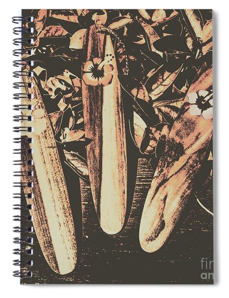 Bygone Boarding Spiral Notebook
