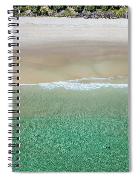 Byron Bay Swimmers Spiral Notebook