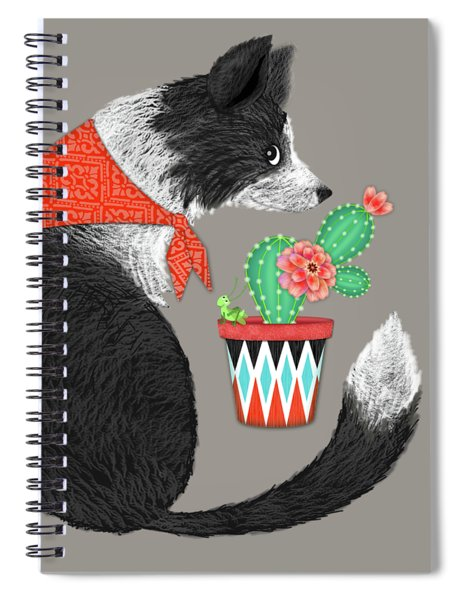 C Is For Collie Spiral Notebook