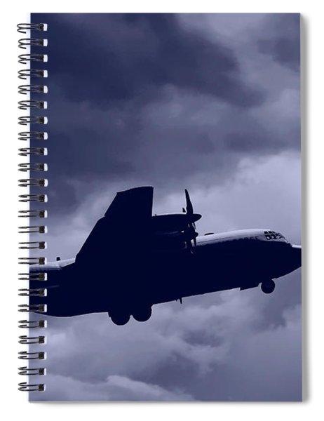 C130 Hercules Spiral Notebook