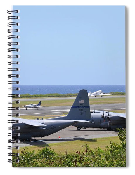 C130h At Rest Spiral Notebook