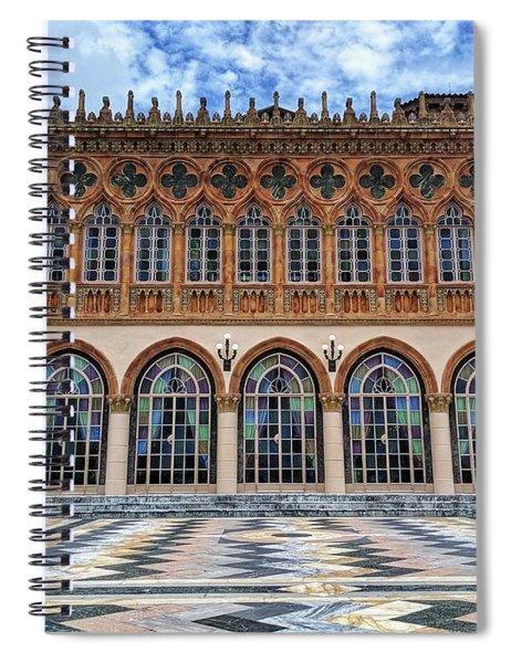 Ca D'zan Spiral Notebook
