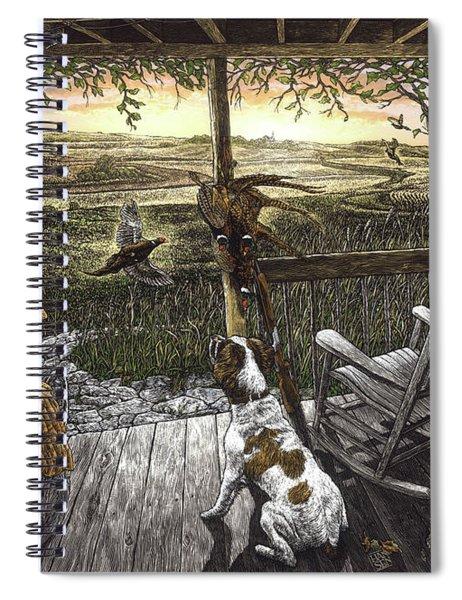 Cabin Fever Spiral Notebook by Clint Hansen