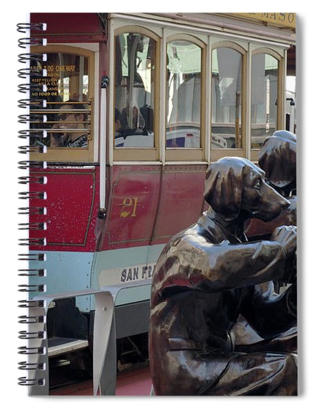 Cable Car And Paparazzi Dogs 2 Spiral Notebook