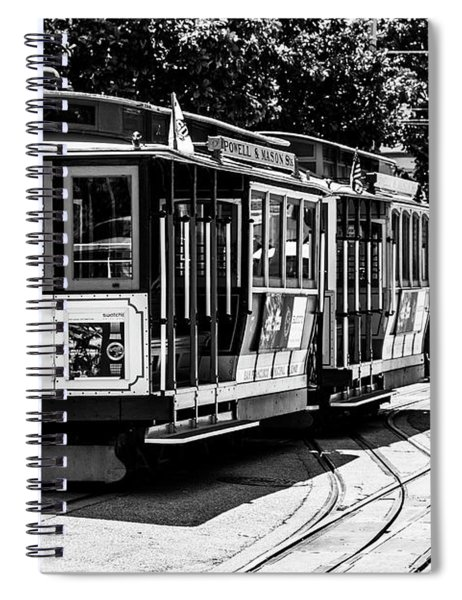 Cable Cars Spiral Notebook