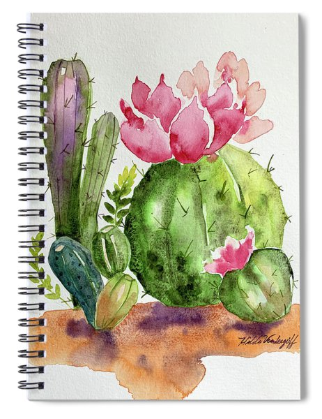 Cactus And Succulents Spiral Notebook