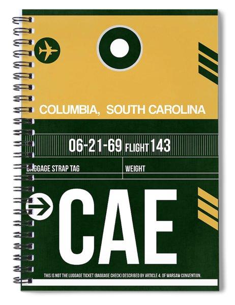 Cae Columbia Luggage Tag II Spiral Notebook