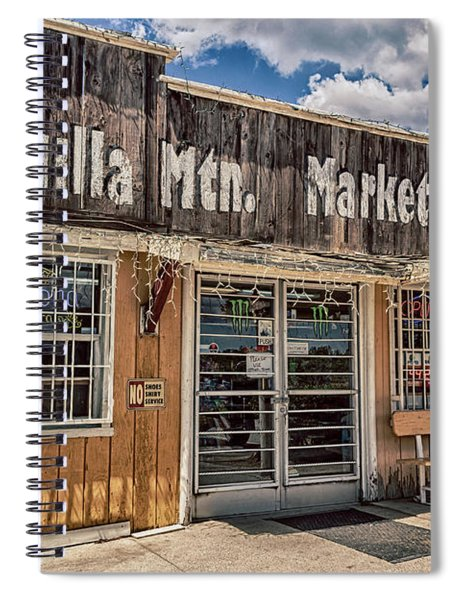 Cahuilla Mountain Market Spiral Notebook by Alison Frank