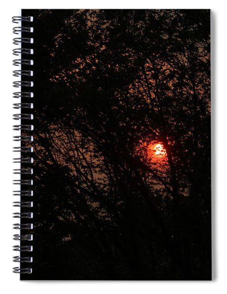 Calgary Sunrise Spiral Notebook