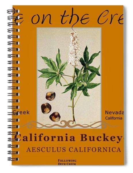 California Buckeye Spiral Notebook
