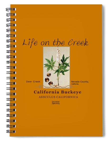 California Buckeye Spiral Notebook