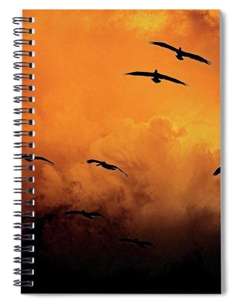 California Exodus Spiral Notebook