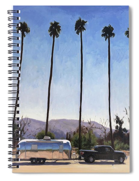 California Honeymoon Spiral Notebook