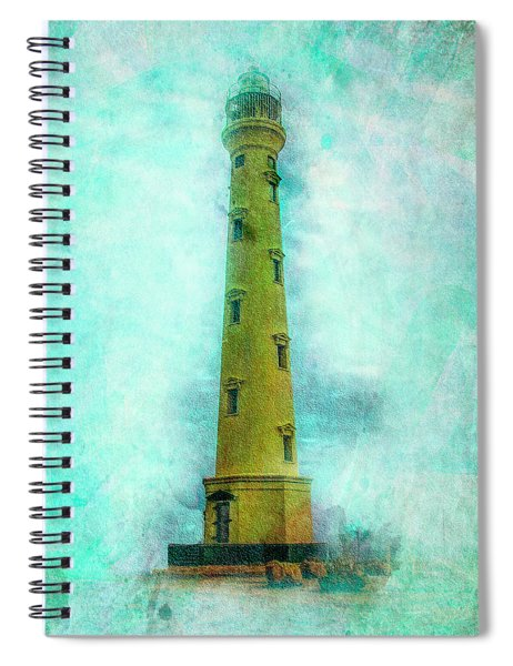 California Lighthouse Aruba Spiral Notebook