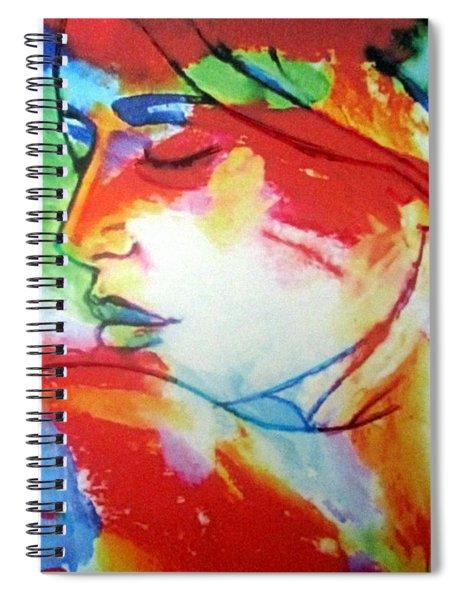 Calm Through The Storm Spiral Notebook