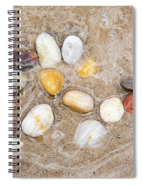 Spiral Notebook featuring the photograph Calm Waters by Emily Johnson
