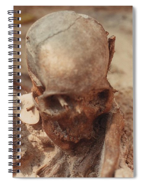 Calusa Indian Mound Key Lee County Florida Spiral Notebook