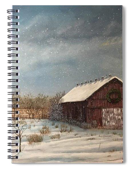 Cambridge Christmas Spiral Notebook