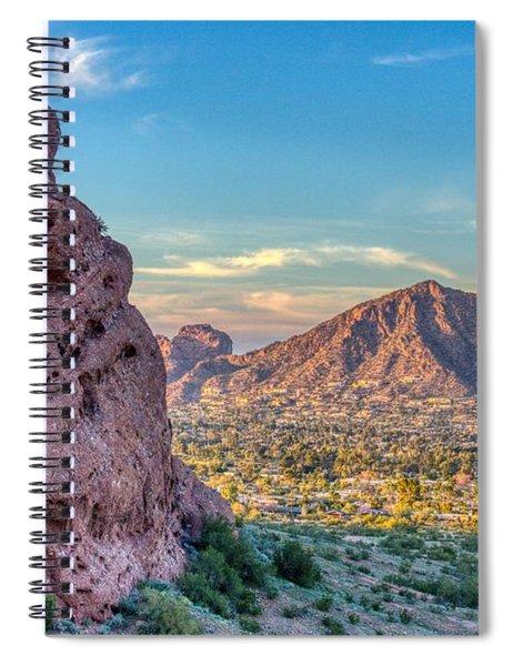 Camelback Mountain  Spiral Notebook