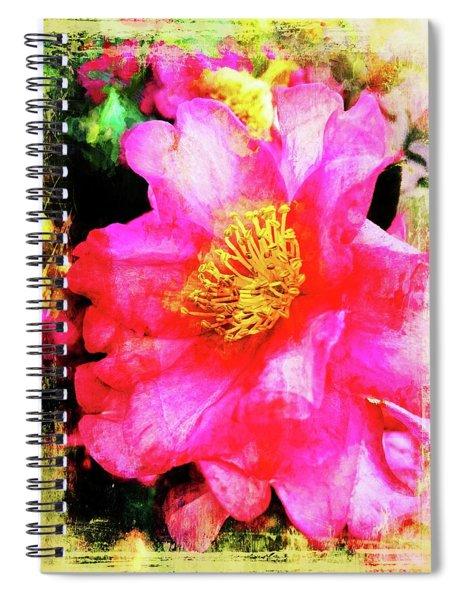 Camellia Pinks Spiral Notebook