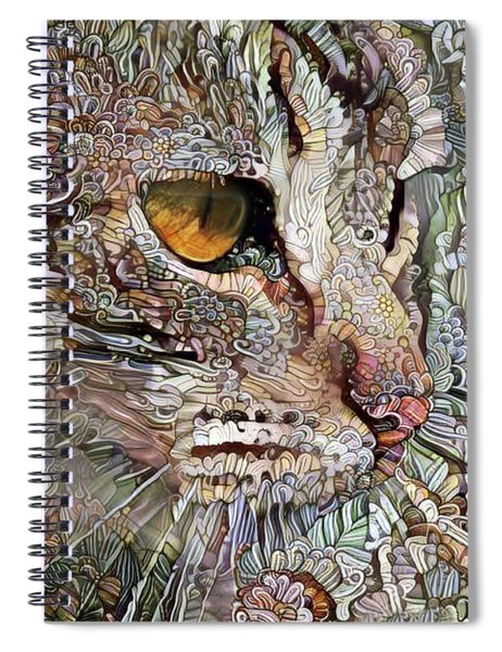 Camo Cat Spiral Notebook