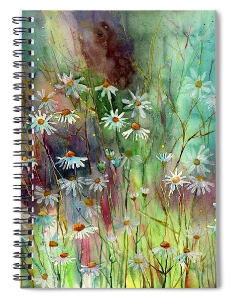 Camomille Spiral Notebook