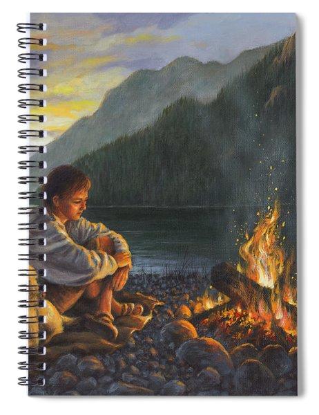 Campfire Companions Spiral Notebook