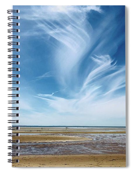 Campground Beach  Spiral Notebook